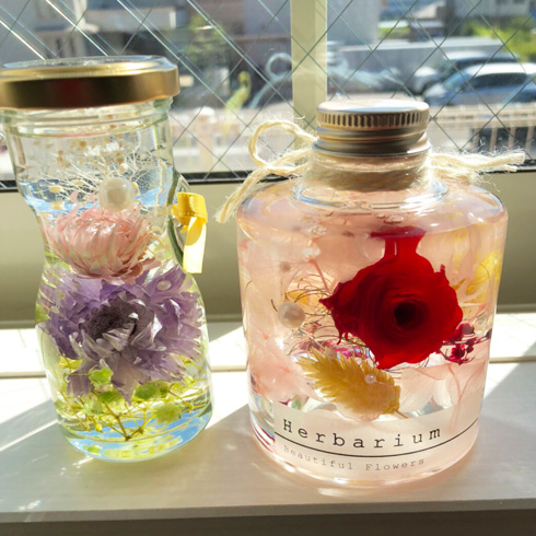 Flower room Gerbera(ガーベラ)の作品例